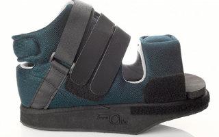 Послеоперационная ортопедическая обувь Барука: правила выбора и использования