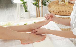 Массаж шишки на ноге большого пальца: техники и эффективность