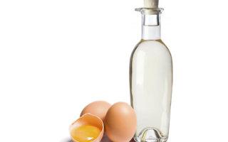 Как вылечить шпору на пятке уксусом и яйцом: рецепты и советы