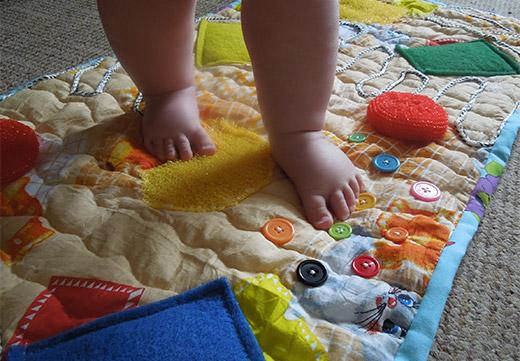 Лечебный коврик своими руками
