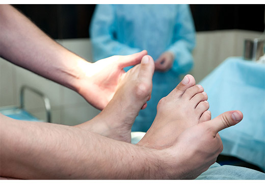 лечение халюс вальгус лазером