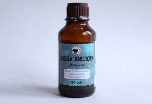 раствор борной кислоты 20 мл