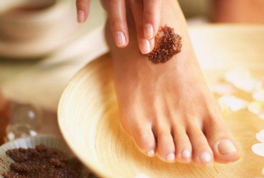 Скраб для кожи ног