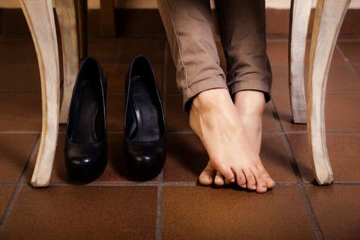 болят ноги от обуви