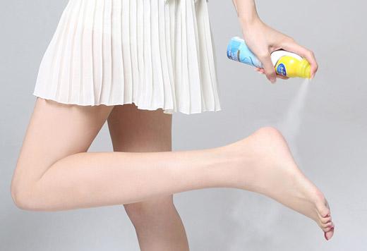 Использование антиперспиранта для ног