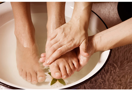 ванночка с травами