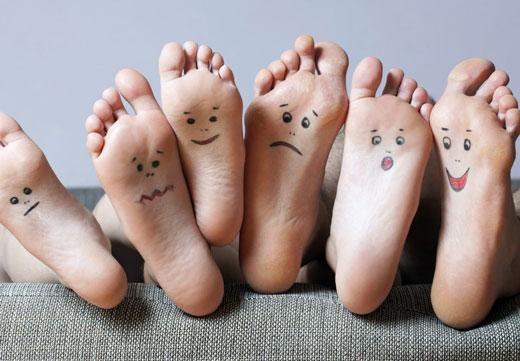 Ступни ног