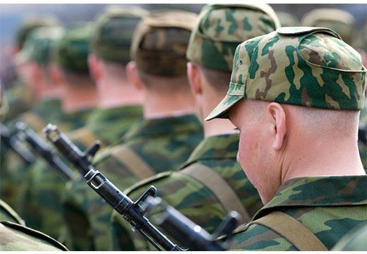 Мужчины в армии