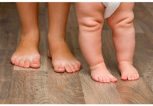 положение ног