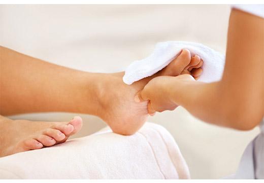 уход за пальцами ног