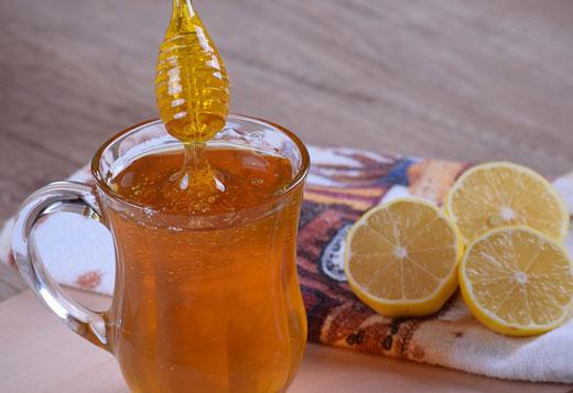 Мед и лимоны