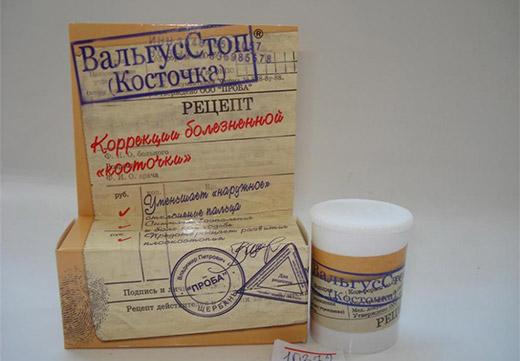Аптечный препарат от косточки на ноге
