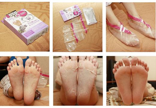 Маска носочки для кожи ног