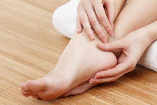 чистая кожа ног