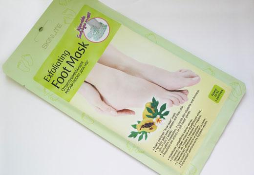 Маска для кожи ног