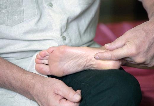 диагностика шпоры на пятке