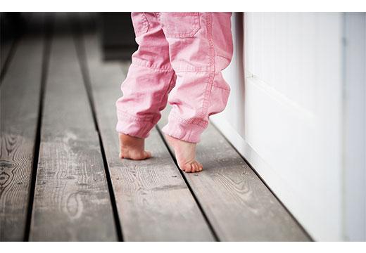 синдром балерины у ребенка