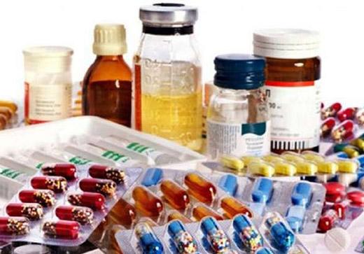 различные виды медикаментов