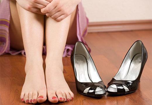 плоскостопие у женщины