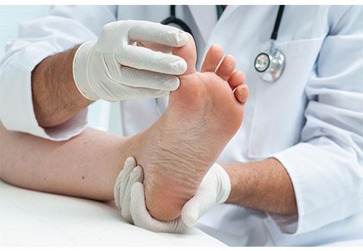Диагностика стопы у врача