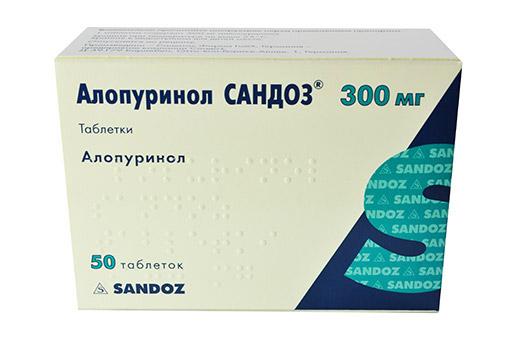 Аптечный препарат Алопуринол